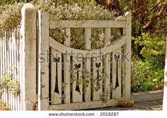 Image detail for -Old Wooden Garden Gate Stock Photo 2019287 : Shutterstock