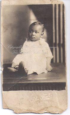 Vintage African American photograph real by TheTwinkleOfAnEye, $15.00