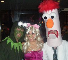 Muppet group costume ! We need this!! lOLOLOL @Shaela White