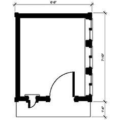 Flutter-By Cottage Plan - Spielhaus-Planer - Outside Playhouse, Playhouse Kits, Build A Playhouse, Wooden Playhouse, Indoor Playhouse, Simple Playhouse, Outdoor Playhouses, Types Of Planning, Cottage Plan