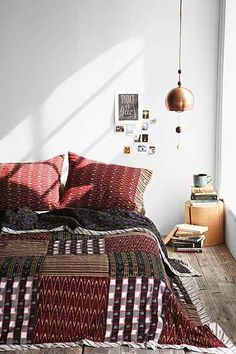 4040 Locust Zumi Quilt- Red Full/queen from Urban Outfitters