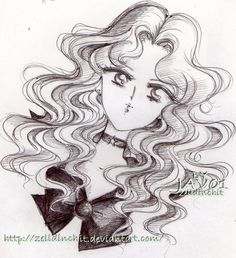 Sailor Neptune by zelldinchit