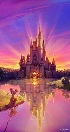 tags : disney color colorful awesome amazing castle disney world disney land magic disney castle beautiful magical disneyworld disneyland Disney Pixar, Walt Disney, Disney E Dreamworks, Disney Magic, Disney Movies, Disney Parks, Disney Mural, Punk Disney, Disney Animation