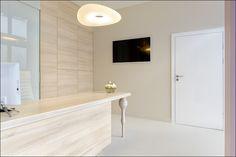 Art Medical Center w Szczecinie projektu biura projektowego M&O STUDIO OSTROWSKA DESIGN. W projekcie wykorzystano nasze drzwi. Doors, Alcove, Alcove Bathtub, Bathroom
