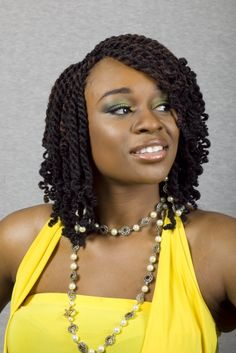 Traditional yet trendy African braided hairstyle for black women ...