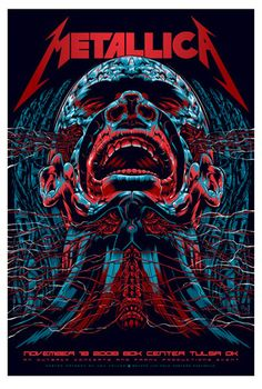 gigposters.com - metallica picture on VisualizeUs