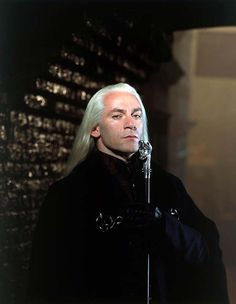 Jason Isaacs as Lucius Malfoy in the Harry Potter films.