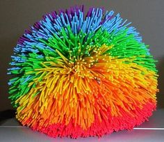 90's Toy - KOOSH BALL! I use to have one of these. I hated that they always got hair stuck in it though