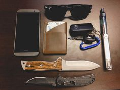HTC One M8 32GB (Metal Grey) ($654) Inkleaf Double-Cross Wallet (Limited Edition with Teal Stitching) ($45) Mazda RX-8 Car Keys Innokin VV 3.0 / Kanger T3D Electronic Cigarette Hand Carved Wood Handle Knife (made myself) Kershaw Black Volt II ($27) Ray-Ban Wayfarer Polarized Sunglasses ($91)  IT Service Tech in Nashville, TN