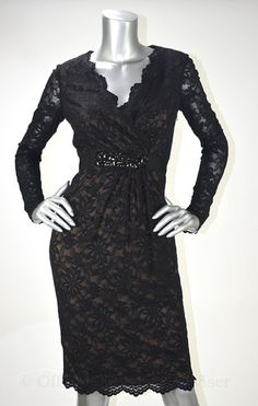 Anne Klein Black Multi Lace Floral Evening Dress Floral Evening Dresses, Anne Klein, Fashion Accessories, Fashion Looks, Retail, My Style, Book, Lace, Books