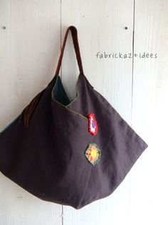 handmade*zakka | fabrickaz+idees...No pattern found but a darling idea!