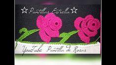 YouTube Crochet Trim, Filet Crochet, Irish Crochet, Knit Crochet, Crochet Hats, Crochet Edging Patterns, Crochet Borders, Crochet Stitches, Crochet Numbers