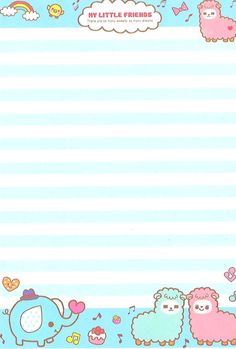 @ Nadine 2017 Letterpaper i scanned in. Stationary Printable, Cute Stationary, Printable Paper, Kawaii Stationery, Stationery Paper, Sanrio, Memo Notepad, Pen Pal Letters, Kawaii Doodles