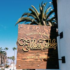 Ellie's Table Signage found in San Clemente