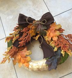 A personal favorite from my Etsy shop https://www.etsy.com/listing/243910717/fall-mini-wreath
