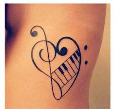 21 Music Tattoo Ideas For Women