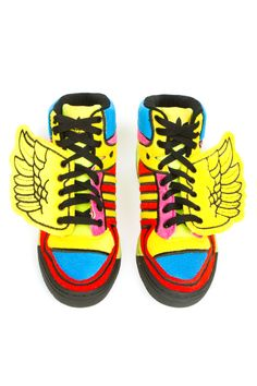 size 40 36368 cf254 Jeremy Scott Adidas, Mens High Top Shoes, Crazy Shoes, Adidas Originals,  Neon
