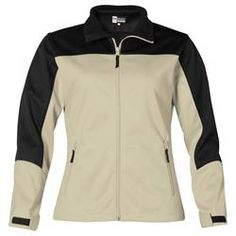 Branded US Basic Attica Soft Shell Jacket - Ladies' Corporate Outfits, Corporate Gifts, Promotional Clothing, Motorcycle Jacket, Jackets For Women, Shell, Winter Jackets, Logo, Model