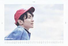 SHINee - Official 2016 Season's Greetings Calendar Key 2