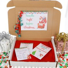Walking in a winter wonderlaaaannnddd... Our Christmas boxes are here to spread all of the Christmas cheer! We understand that Christmas may be different this year but that doesn't mean Christmas spirit has to disappear! Perfect gift idea for your little elf ( or big elf!) in your life. Filled with everything fun and festive - even Christmas Cracker Jokes! Set includes: Magic Snow Build Your Own Snowman Kit Snowman Soup (Hot Chocolate, Candy Cane, Marshmallows and Chocolate Hearts) Magical… Christmas Activities For Kids, Christmas Gifts For Kids, Christmas Treats, All Things Christmas, Chocolate Hearts, Christmas Chocolate, Hot Chocolate, Snowman Kit, Snowman Soup