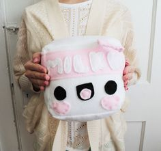 Milk Plush made by Happy Cosmos on Etsy