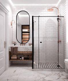 Home Interior Design .Home Interior Design Modern Bathroom Decor, Bathroom Interior Design, Small Bathroom, Master Bathroom, Bathroom Goals, Bathroom Designs, Interior Design Programs, Colorful Bathroom, Dyi Bathroom