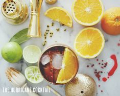 THE HURRICANE COCKTAIL // The Kitchy Kitchen