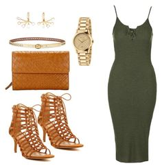 """""""night out"""" by alegaravito on Polyvore featuring Topshop, Report, Lauren Ralph Lauren, Elizabeth and James, Gucci and John Lewis"""