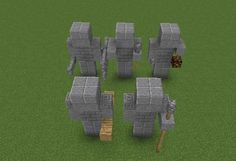 Statues of Warriors - GrabCraft - Your source for MineCraft buildings . - Architecture and Art - Statues of Warriors – GrabCraft – Your source for MineCraft buildings …, -