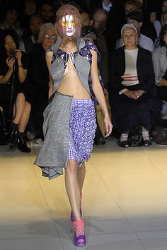 Comme des Garcons skirt (in white), Spring 2008