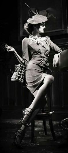 Christian Dior vintage  - www.bmertus.com If I could look like this #HighCountryVending #ShortStories