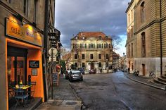 Bourg de Four, Geneve Switzerland