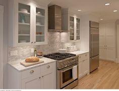 Galley Kitchen - contemporary - kitchen - san francisco - Michael Merrill Design Studio, Inc