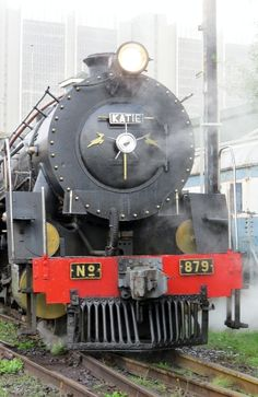 """Steam train ride on """"Katie"""" from Cape Town to Simonstown & back Steam Train Rides, Busses, Cape Town, Trains, Past"""
