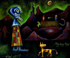 Joan Ponc (Spanish: 1927- 1984) - Contornos (1950)