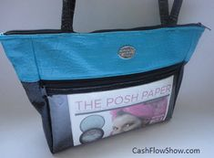 Beautiful photo tote bags are guaranteed to get direct sales business bookings!  http://www.createacashflowshow.com/building-show-business/photo-tote-bag.htm