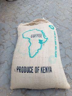 kenyan coffee bag Kenyan Coffee, Reusable Tote Bags, Throw Pillows, Toss Pillows, Cushions, Decorative Pillows, Decor Pillows, Scatter Cushions