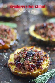 Food on Pinterest | Stuffed Acorn Squash, Big Mac and Acorn Squash