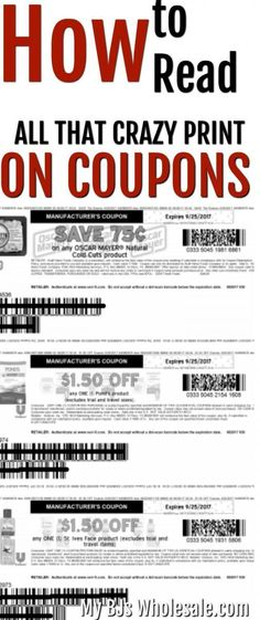 Limit of like four, per purchase, transaction. All the words can get confusing. Learn how to understand the stuff on a coupon below. Plus if you shop at BJ's you'll be on your way to mega savings. #coupons #couponing #frugal #savemoney #howto #tips via @tasiaboland
