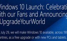 Lanciato il sito di Windows 10 con una FAQ di domande e risposte per tutti i dubbi degli utenti Windows 10: domande e risposte Quali sono le tappe fondamentali dell'aggiornamento a Windows 10?  Dal 29 luglio 2015 Microsoft renderà disponibile Windows 10 sotto forma di aggiornamento gratuito  #microsoft #windows10 #windows