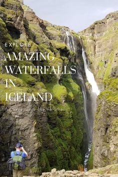 Looking to explore Iceland and the amazing places you can see? Check out the waterfalls that we were able to experience. Waterfalls in Iceland are amazing! Iceland Travel Tips, Iceland Road Trip, Europe Travel Guide, Travel Guides, Travel Destinations, Holiday Destinations, Winter Travel, Fun Travel, Travel Stuff