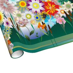 Flower Decor 14 Wrapping Paper