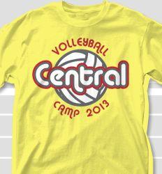 Volleyball Camp T Shirt Designs - Cool Custom Volleyball Camp T Shirts. FREE Shipping Custom Volleyball Shirt Designs - Volleyball Camp T-Shirts Volleyball Shirt Designs, Volleyball Shirts, Volleyball Tournaments, Shirt Ideas, Image