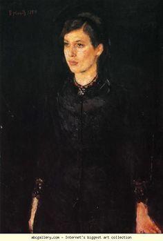 Edvard Munch. Sister Inger. Olga's Gallery.