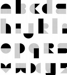 the science of design: Calligraphy Words, Typography Letters, Typography Poster, Alphabet Design, Alphabet City, Lettering Design, Logo Design, Art Deco Font, Collage Artwork