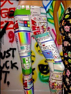 windows 95 legginz Windows 95, Sweet Lord, Aesthetic Look, What To Wear Today, Random Stuff, Cart, Dressing, Future, Random Things