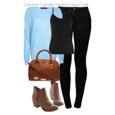 Beauty & the Beast - Catherine Chandler Inspired Casual Outfit by staystronng