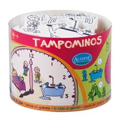 Buy Aladine Tampominos Tell The Time Clock Stamps Product Online Australia | No i Deer Gifts