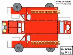 Free Printable Fire Trucks.