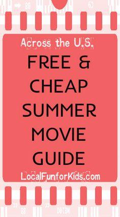 Free & Cheap Summer Movies2012